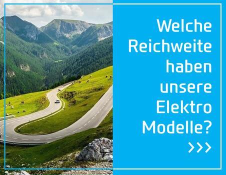 Welche Reichweite haben unsere Elektro Modelle?